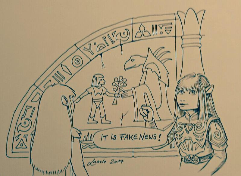 DARK CRYSTAL Prophecy Cartoon   by Skulpturen