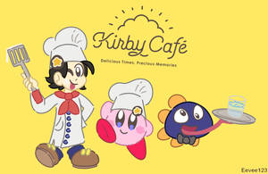 Kirby - The Kirby Cafe by EeveeFromKalos123