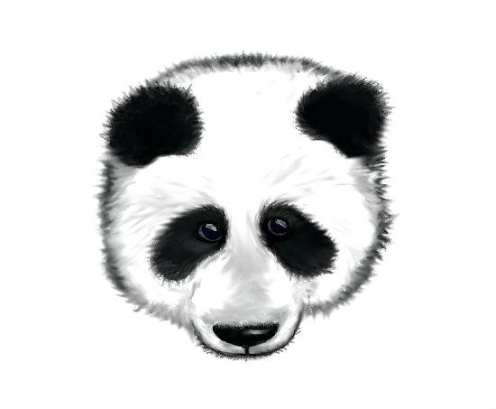 Tumblr Panda Head