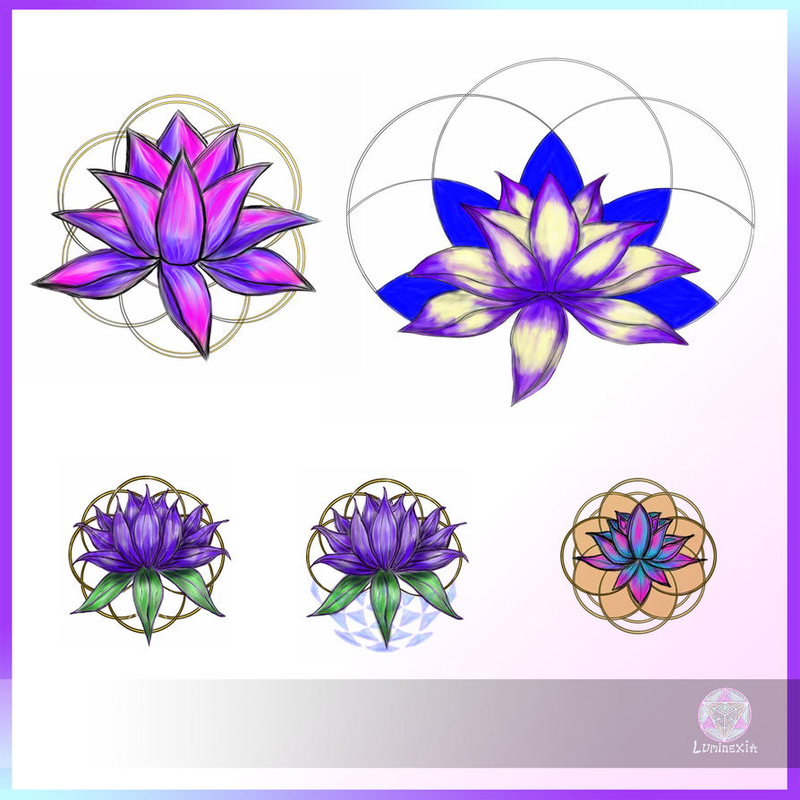 Flower Of Life Lotus Tattoo Sacred Geometry Tattoo Flower Www