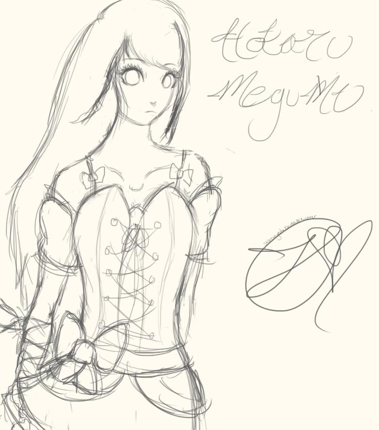 Hotaru Megumi by starryxeyedx
