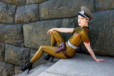 Military girl II by iDementhia