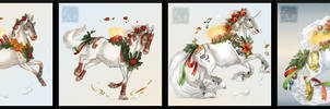 Howrse art / Advent Horses