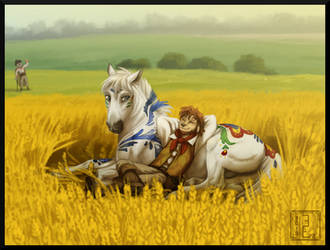 [FLK] Sleeping in the Crops by BUGHS-22