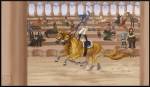 [WoC] Felken Fair 2021 Double Horse Riding