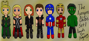 The Avengers Chibis Set 1