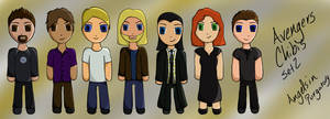 The Avengers Chibis Set 2