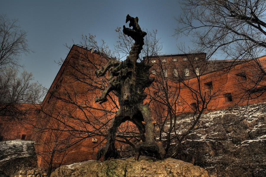 Wawel Dragon HDR by FinnianTerra