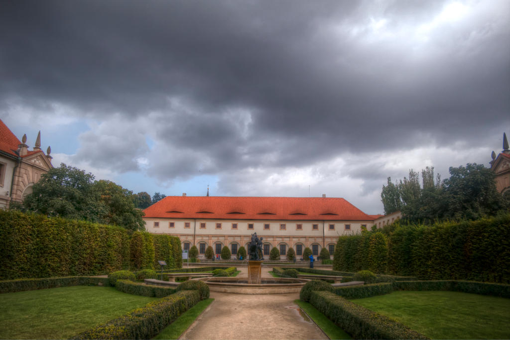 Wallenstein Palace HDR by FinnianTerra