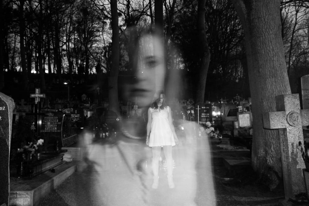 Ghostly apparition by FinnianTerra