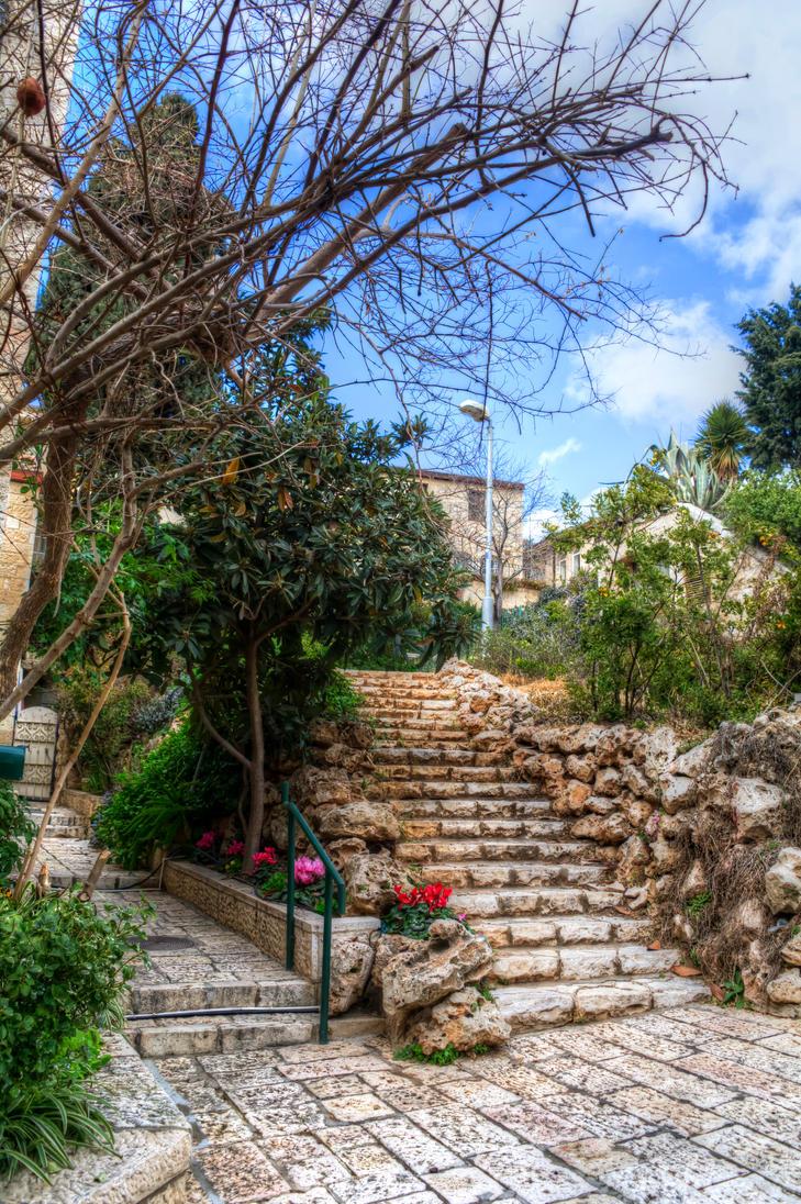 Jerusalem Alley by FinnianTerra