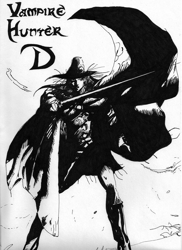 Vampire Hunter D by thaddeous