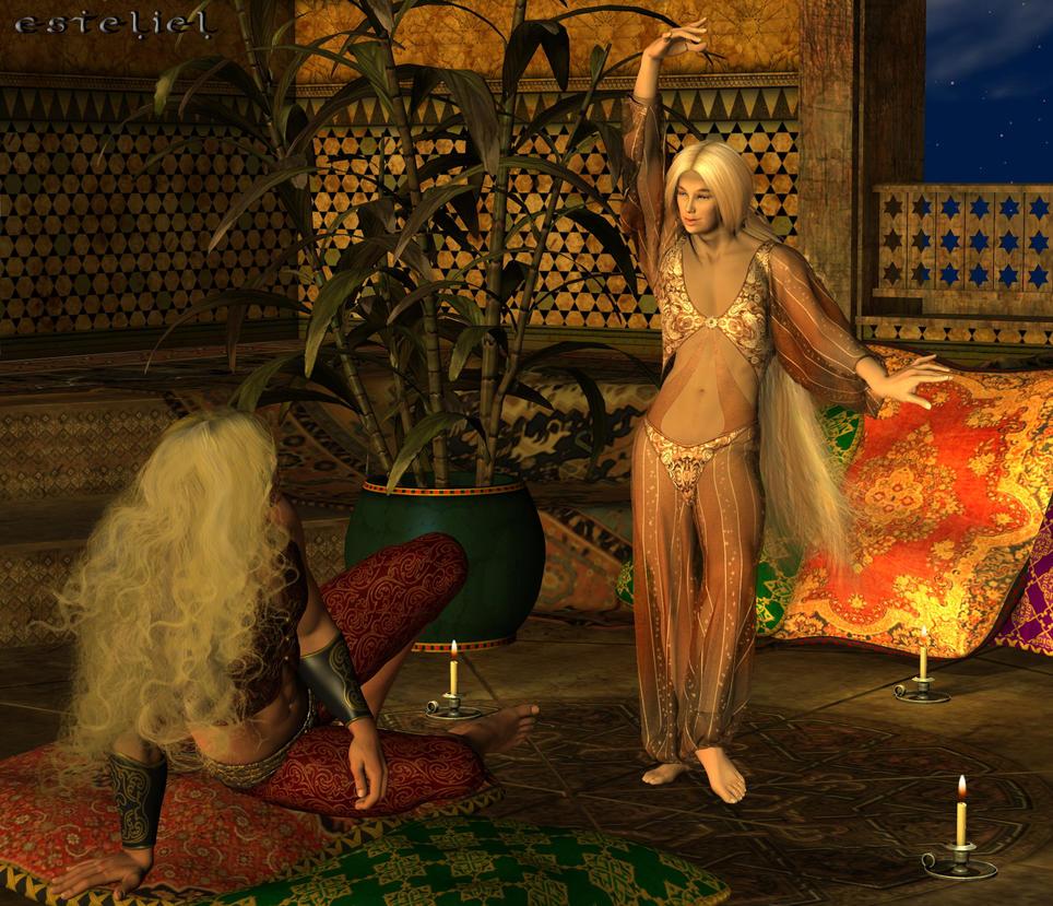 Harem slave nude galleries