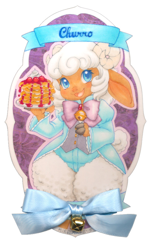 Frilly Badge: Churro by Mirelmture