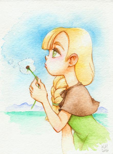 Gerda Watercolor by katiesketch