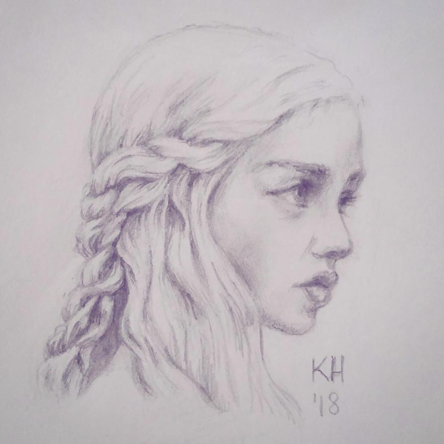 Daenerys Sketch by katiesketch