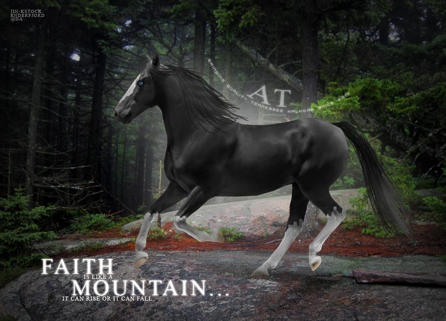 Mountain Of Faith by enderfjord
