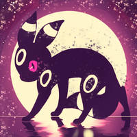 Umbreon by Flavia-Elric