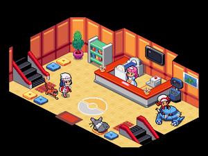 Sinnoh Pokemon Center