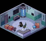 Commission - Pixel Room