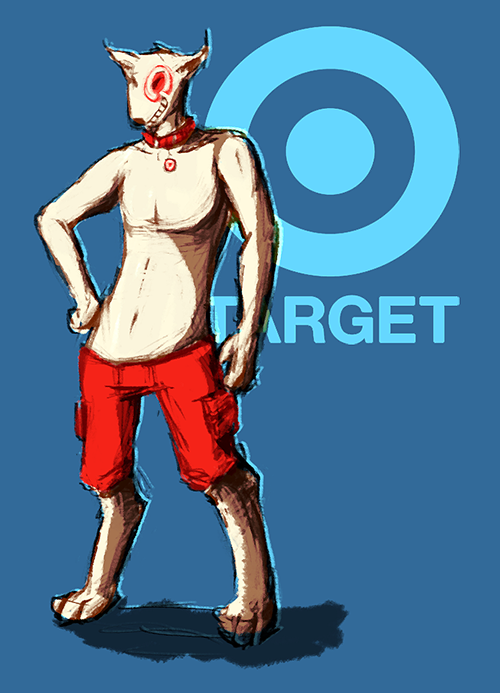 target dog drawing. target dog meets abercrombie and fitch model by seafiish drawing s