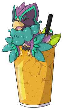 Zephyruff Passion Fruit Smoothie