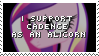 Stamp: I support her as an alicorn by ToonAlexSora007