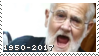 Stamp: Angry Grandpa 1950-2017 by ToonAlexSora007