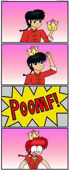 Ranma with Super Crown