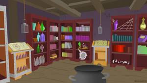 Gamerpen's Studie/Lab Room