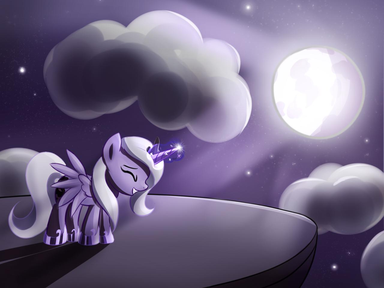 Luna's Cutie Mark by fajeh
