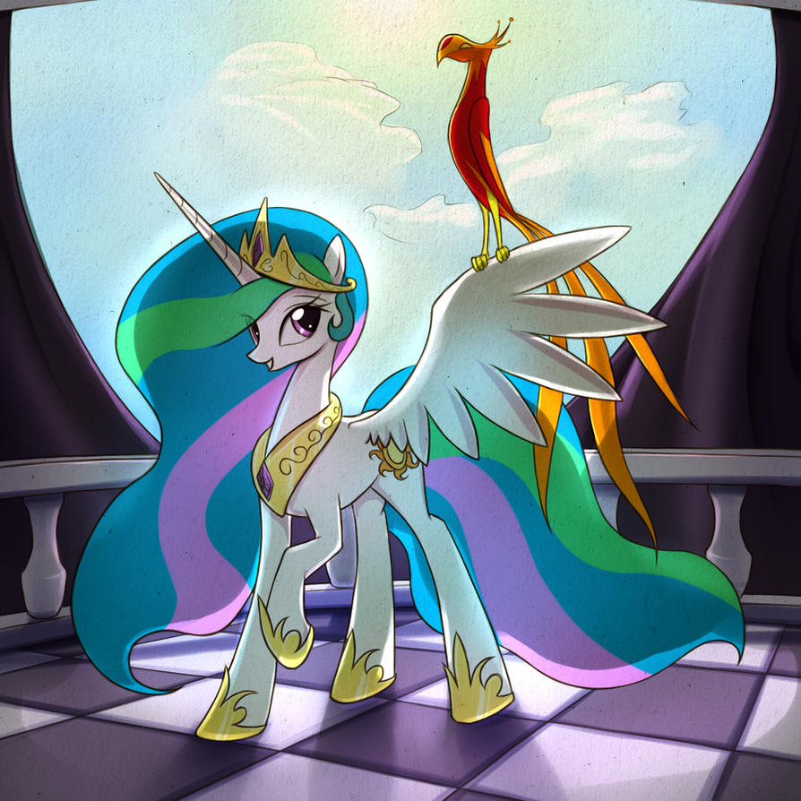 Princess of the Sun by fajeh