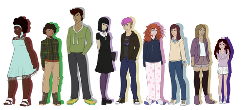 October Shadows Cast by EterniiTea