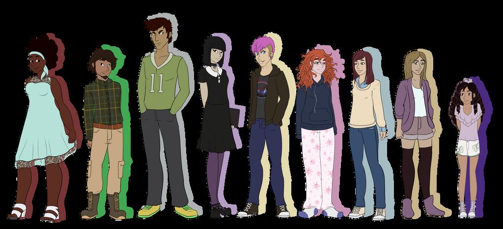October Shadows Cast