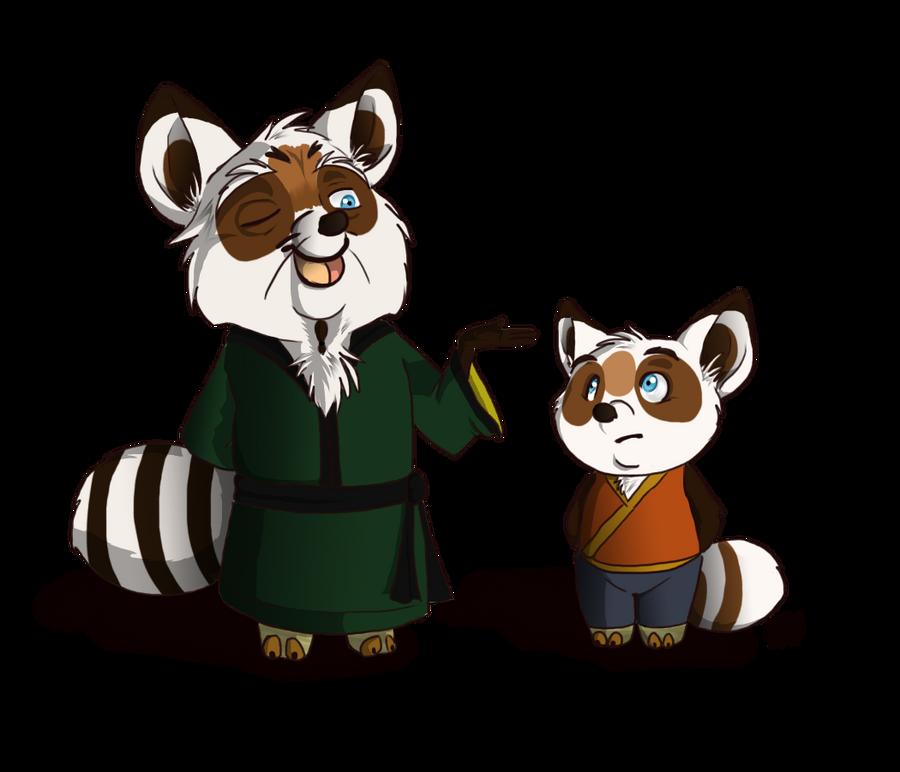 Koto and Shifu by KeysaMoguri