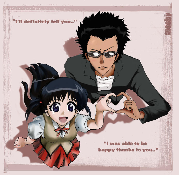 Yakumo And Harima Tenma + Harima -School...