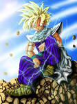 Patience Gohan by AtL-eAsTwOoD
