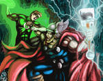 Thor vs. The Green Lantern