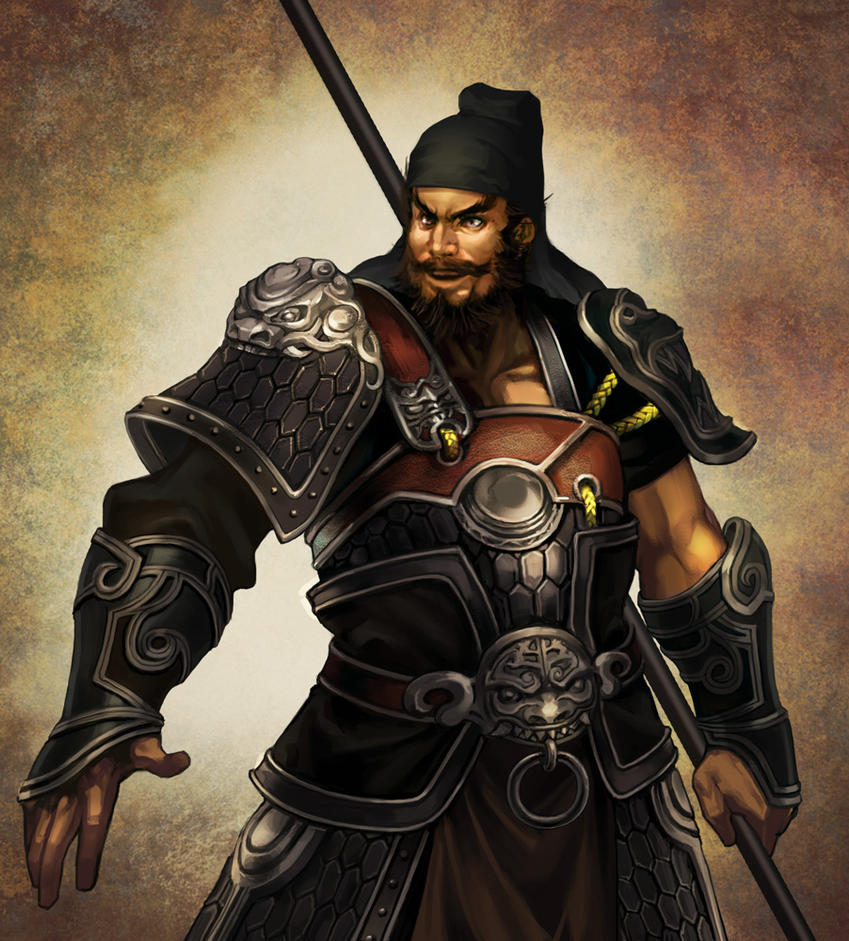 zhang fei by bigwjj on DeviantArt