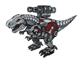 Mechanical dinosaurs by bigwjj