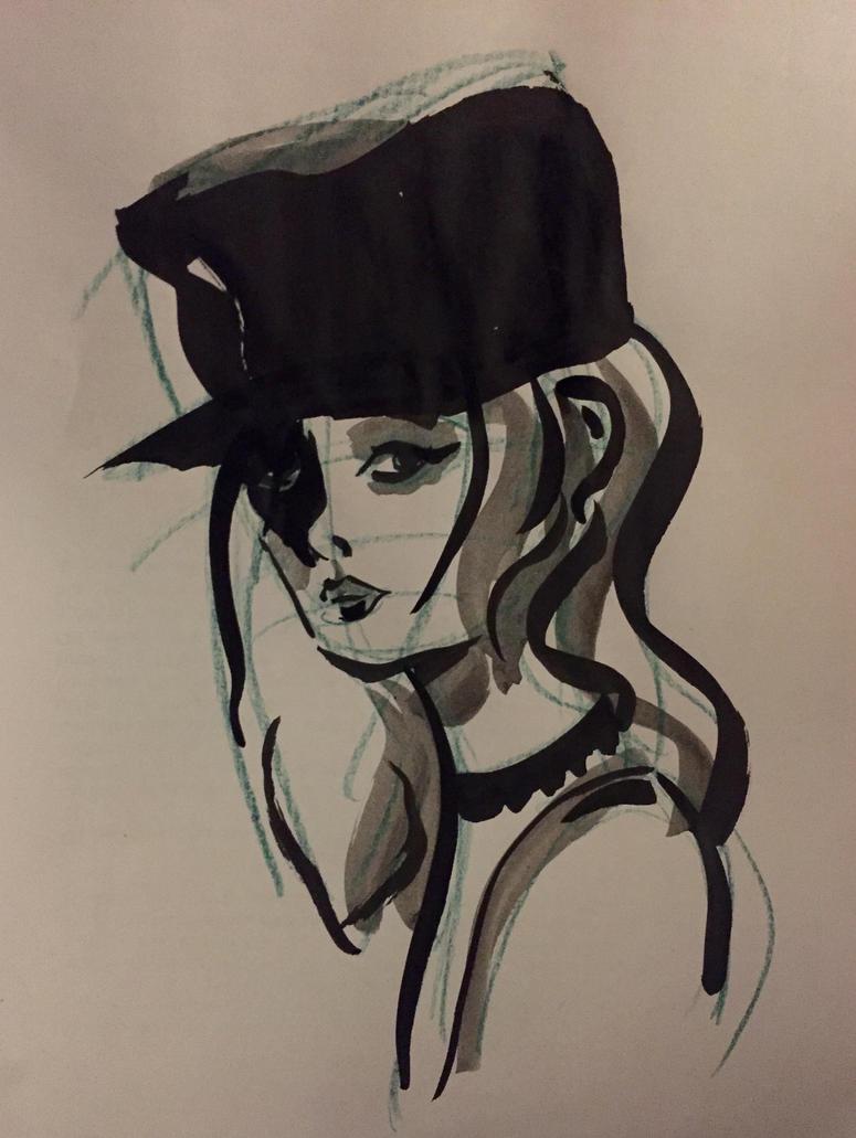Elle looking by Jupowi