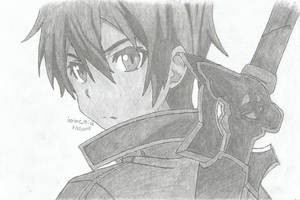Kirito - Sword Art Online by ianime4life