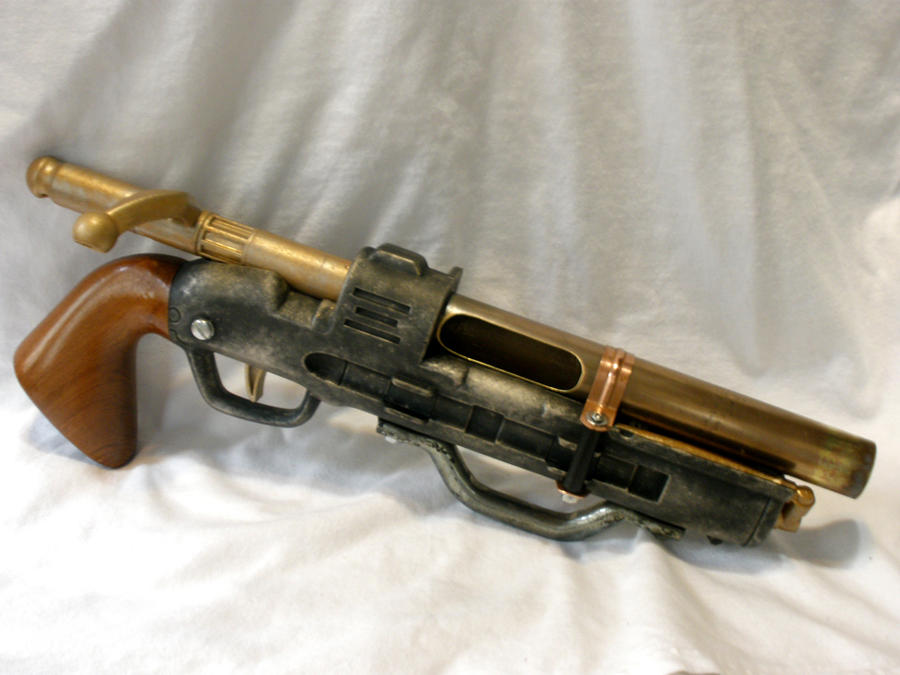 Steam Punk Nerf BuzzBee Hunter Pistol 2 by MarcWF