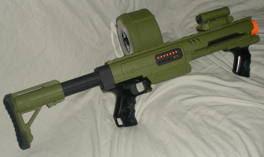Custom Modified NERF Army Raider by MarcWF