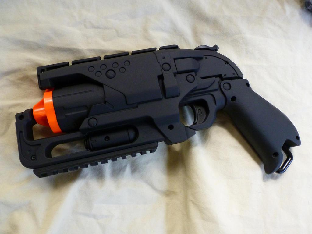 Tactical Nerf Hammershot Wip By Marcwf On Deviantart