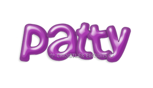 Patty Text PNG (Logo)