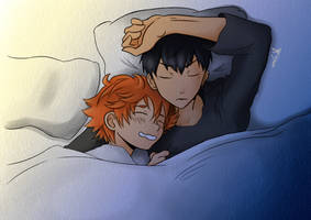 Comission Kagehina by Lariart9