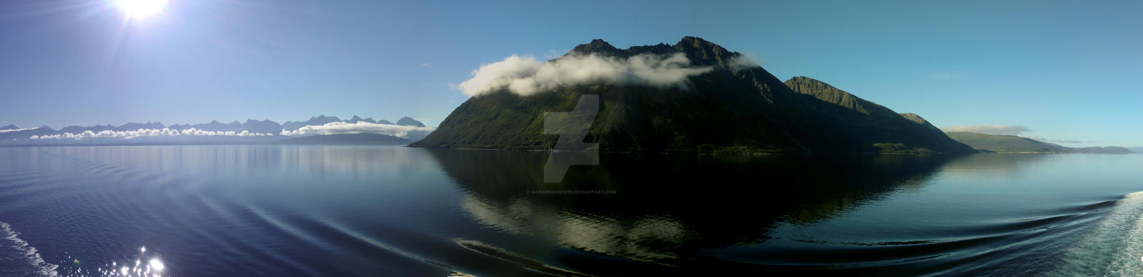 Misty mountains of norway by darkprince1976
