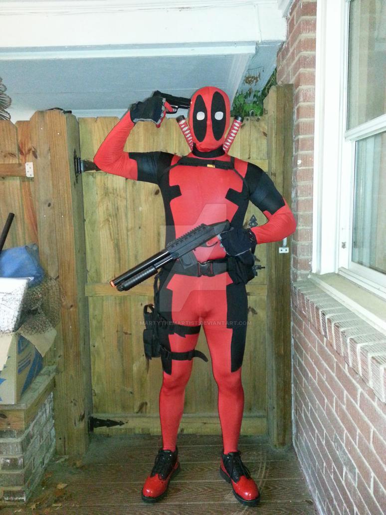 Deadpool Halloween Costume by Martythemartist on DeviantArt