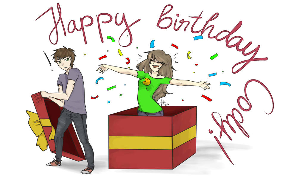 Happy B-Day Codes! by sucix